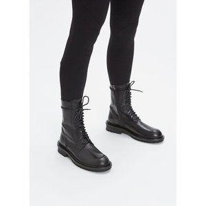 Ann Demeulemeester combat boots size38